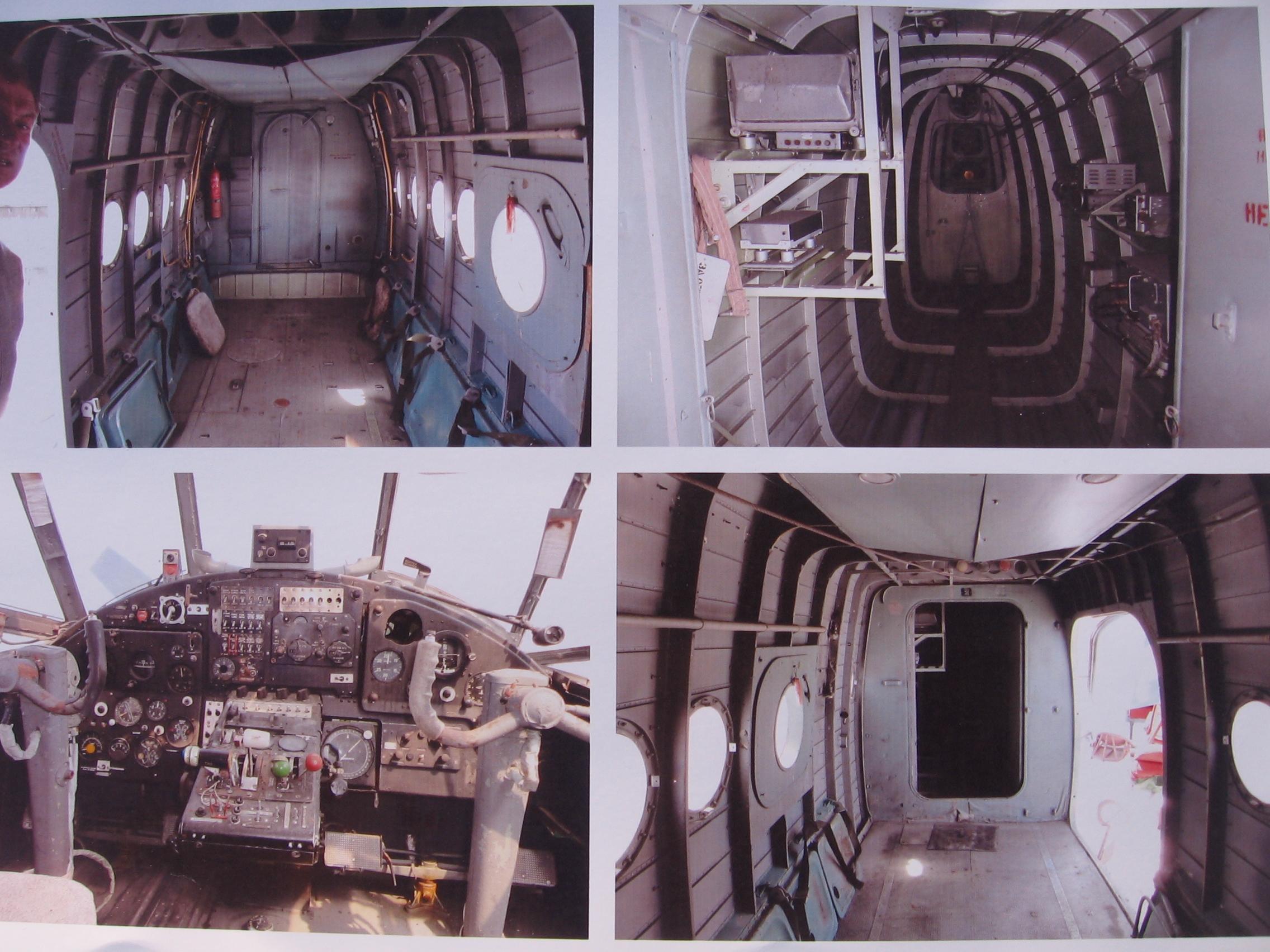 АН-2 внутри